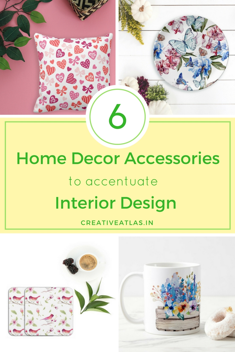 Home Decorating Tips to accentuate your home with nature-themed home decor products, home decor ideas from creativatlas on zazzle.com