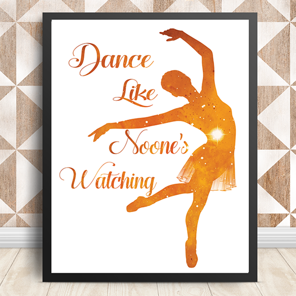 Dance-Poster-Printable-Etsy Creative Gifts for everyone
