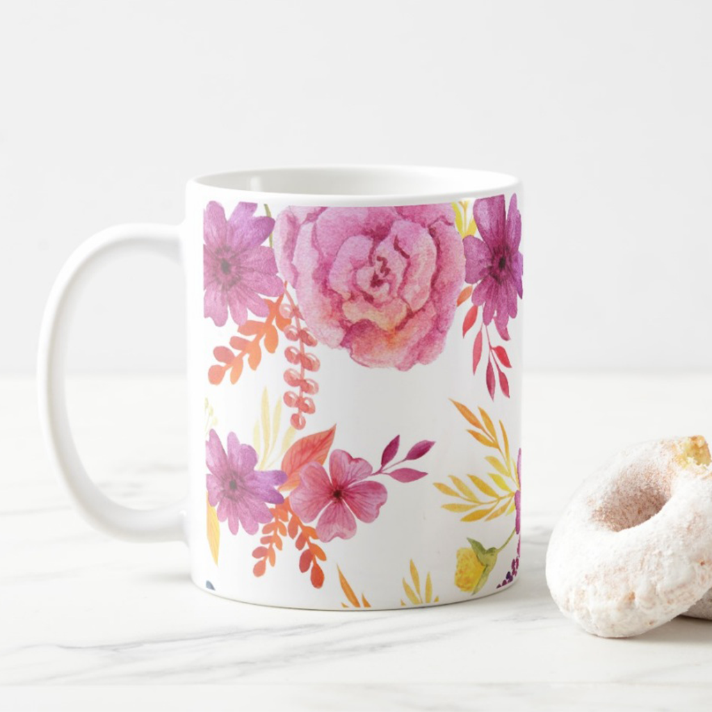 Purple-Floral-Coffee-Mug-Zazzle