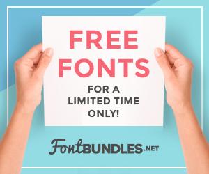 Free Fonts Font Bundles